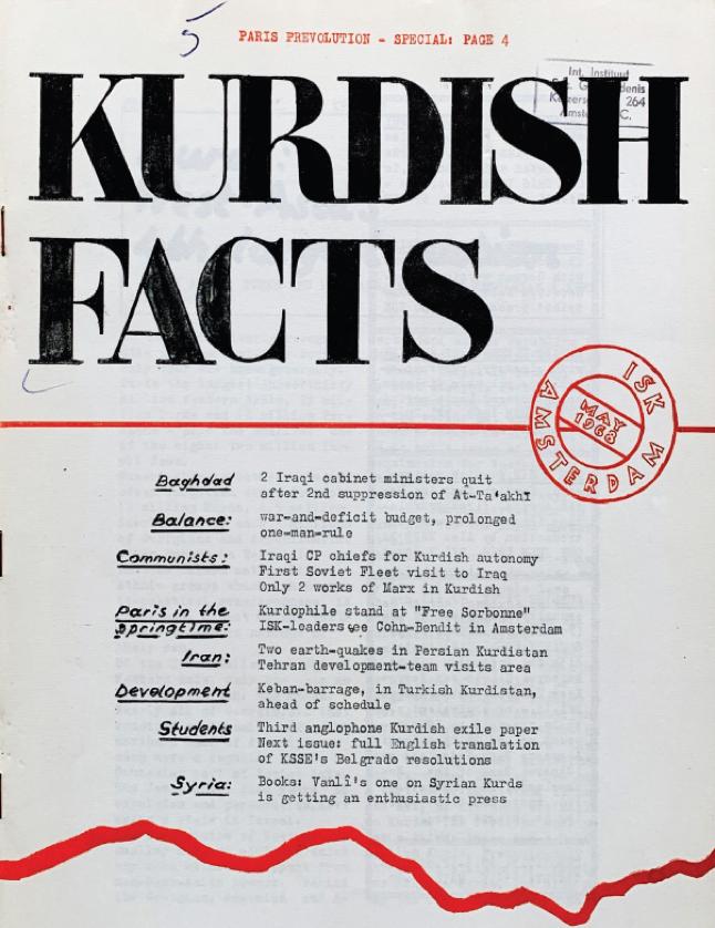 """Demir Perde'nin Batı Yakasında """"Kürt-Dostu"""" Anti-Komünist Bir Kurum  Beynelmilel Kürdistan Cemiyeti • Dergi İçerikleri"""